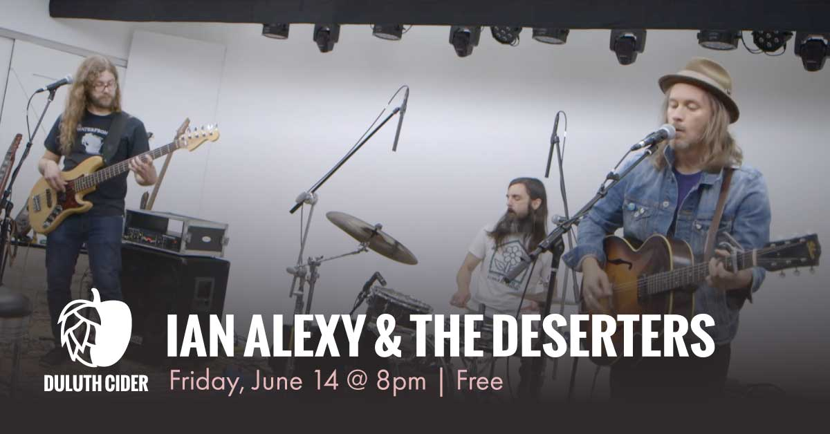 ian alexy and the deserters duluth cider