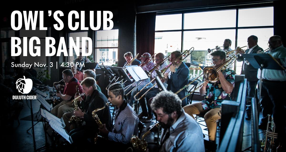 Owls-Club-Big-Band-at-DUluth-Cider-Nov-3